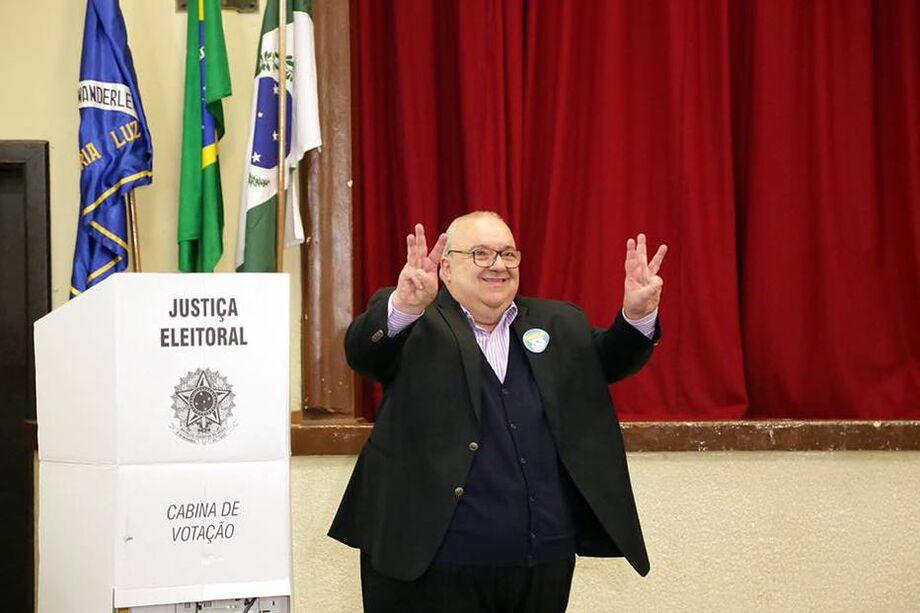 O prefeito de Curitiba, Rafael Greca