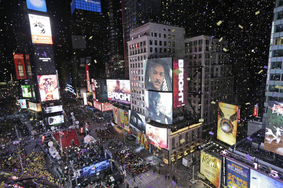 A Times Square Alliance disse que assistir à famosa queda da bolaem 2021 será um evento digital para todos