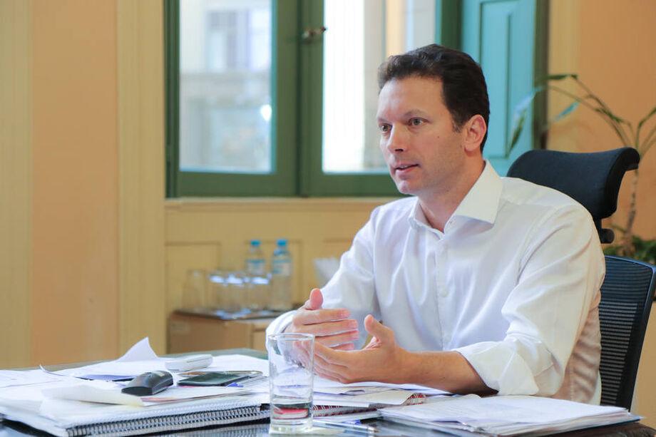 Prefeito de Porto Alegre, Nelson Marchezan Júnior busca a reeleição