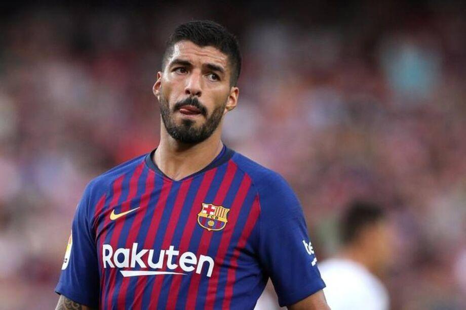 Luis Suárez, atual atacante do Barcelona