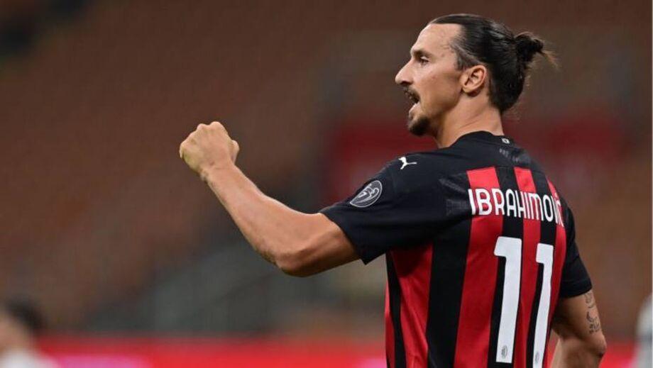 Ibrahimovic é mais um jogador infectado com o novo coronavírus no elenco do Milan