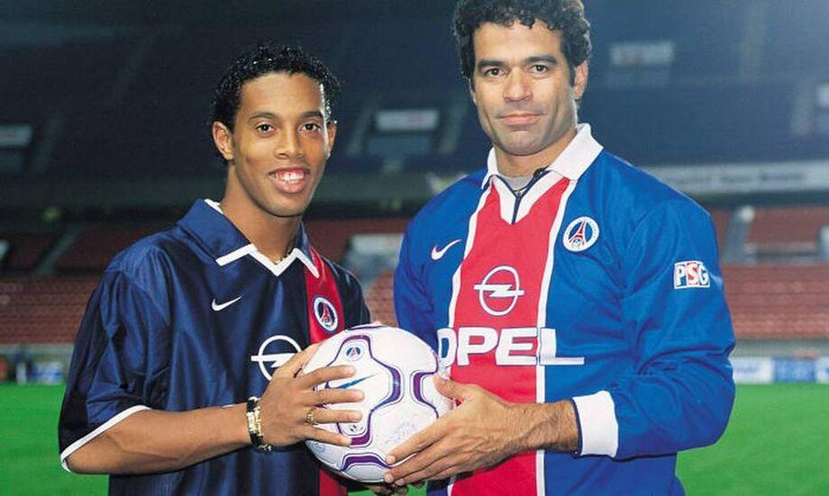 Raí atuou pelo PSG entre 1993 e 1998
