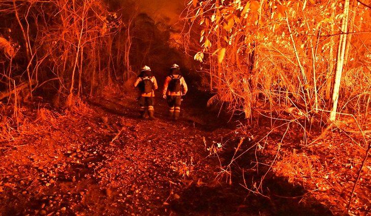 Guarnição passou por situações desafiadoras no combate às chamas