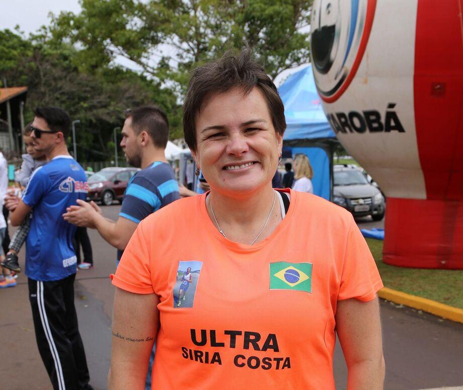 Maratonista Siria Costa, 43 anos