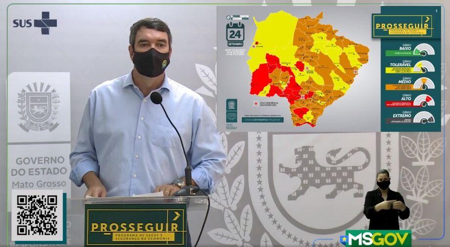 O Secretário de Estado de Governo e Gestão Estratégica, Eduardo Riedel