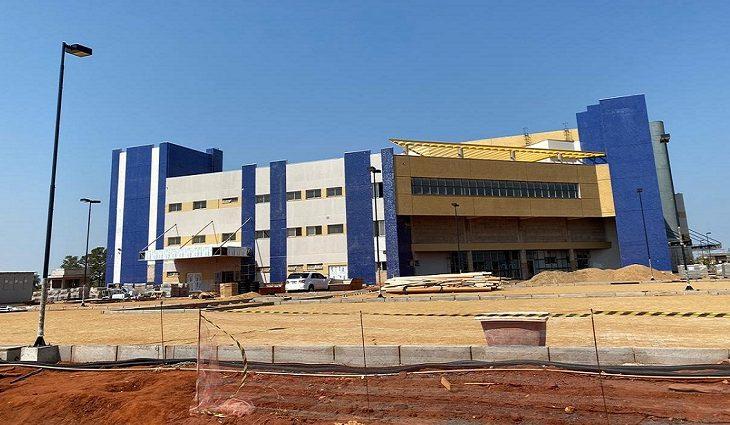 Obras no Hospital Regional de Três Lagoas