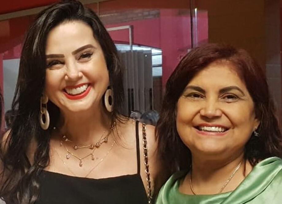 A presidente do PSDB Mulher Estadual Mara Caseiro e a vice, Eliana Rodrigues