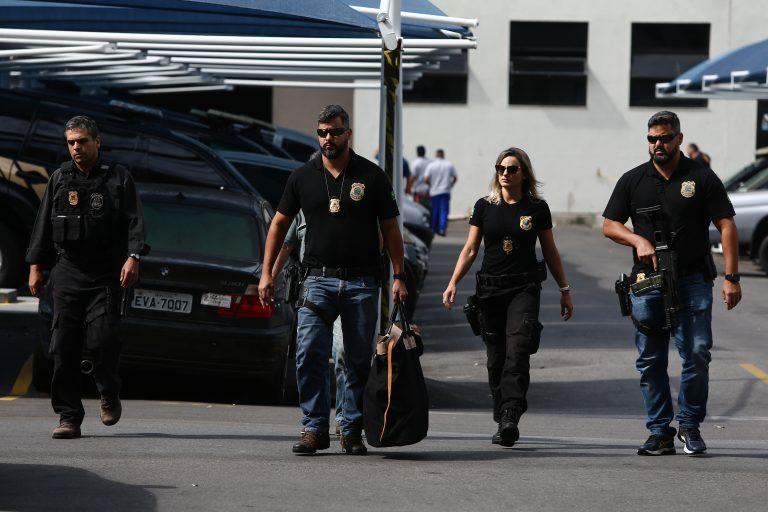 A Polícia Federal cumpriu 25 mandados de busca e apreensão em três Estados
