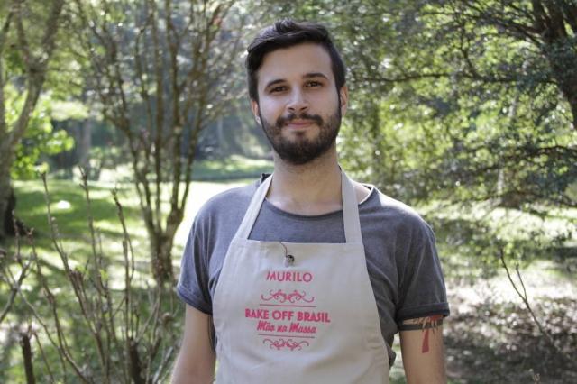 Murilo Marques participou da segunda edição do reality show 'Bake Off Brasil', em 2016