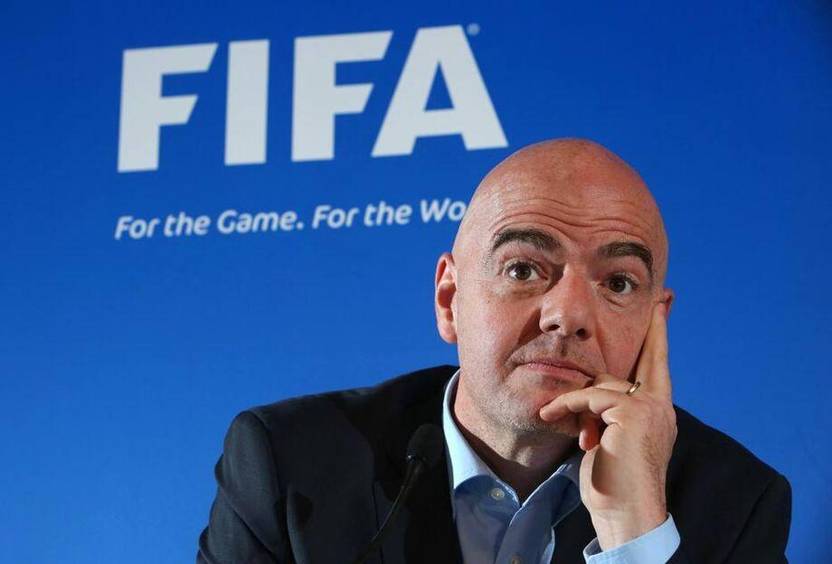 Gianni Infantino, presidente da Fifa.