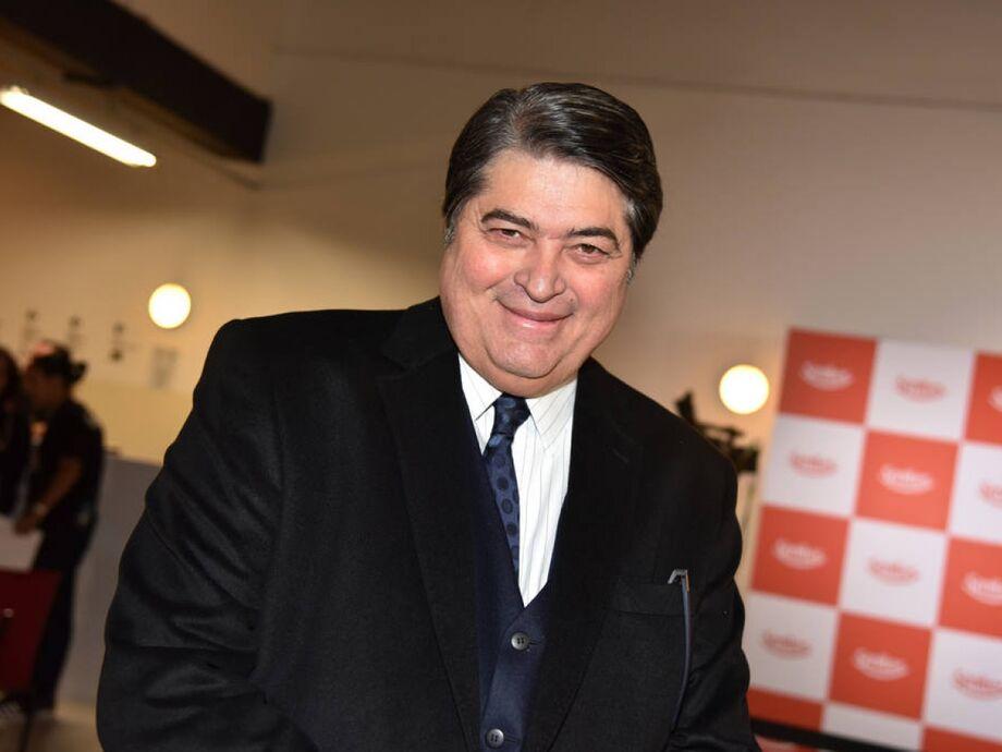 O apresentador José Luiz Datena, da rádio e TV Bandeirantes