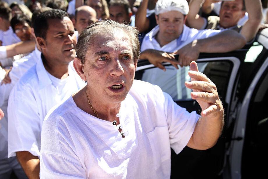 João de Deus foi internado em hospital de Brasília na madrugada deste sábado, 24