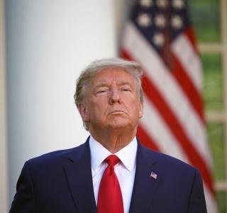 O presidente dos Estados Unidos, Donald Trump