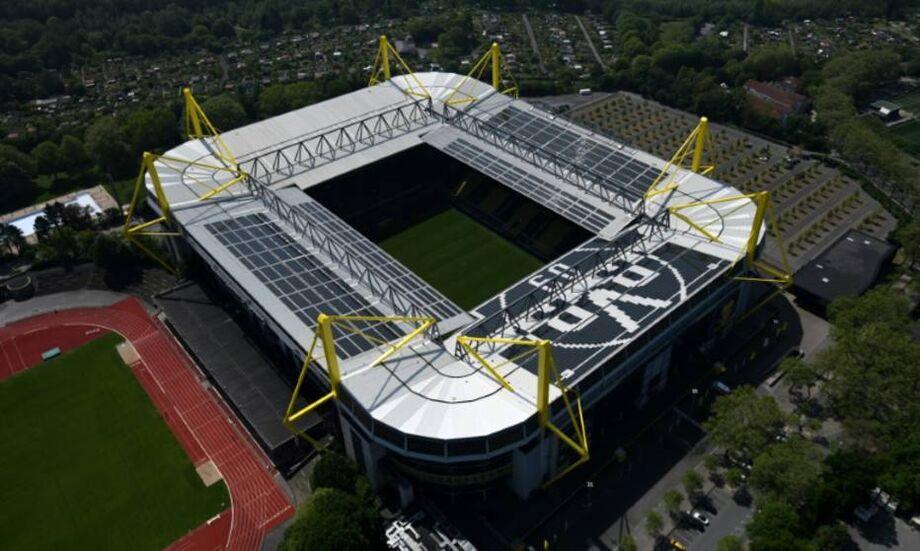 Estádio Signal Iduna Park do Borussia Dortmund, da Bundelisga