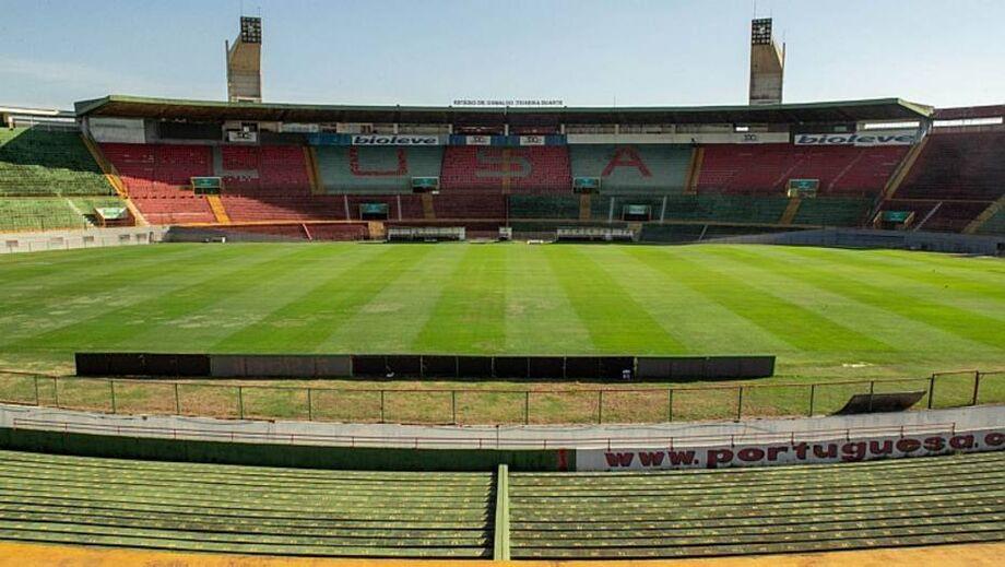 Canindé, estádio da Portuguesa, está com o futuro indefinido