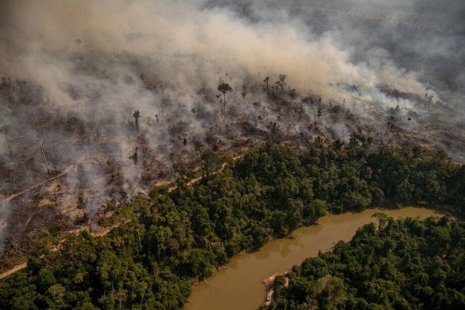 Queimadas na Amazônia superam focos de todo o ano de 2019