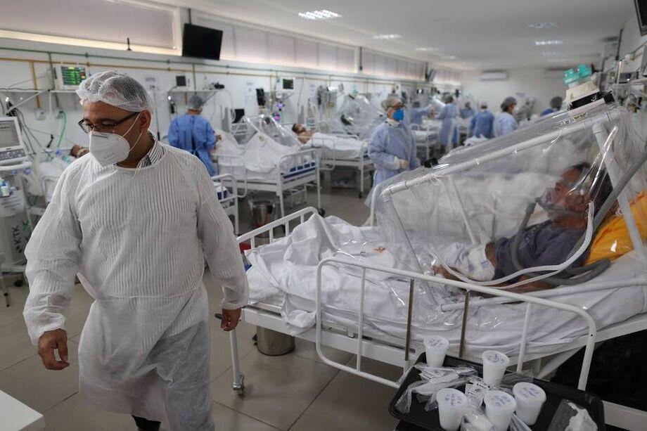 Brasil é o terceiro país mais afetado pela pandemia, em número de contaminados
