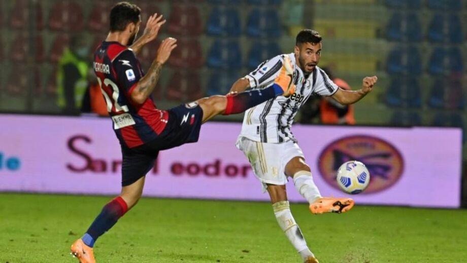 Crotone vinha sendo saco de pancadas no Italiano, mas arrancou empate contra a Juventus