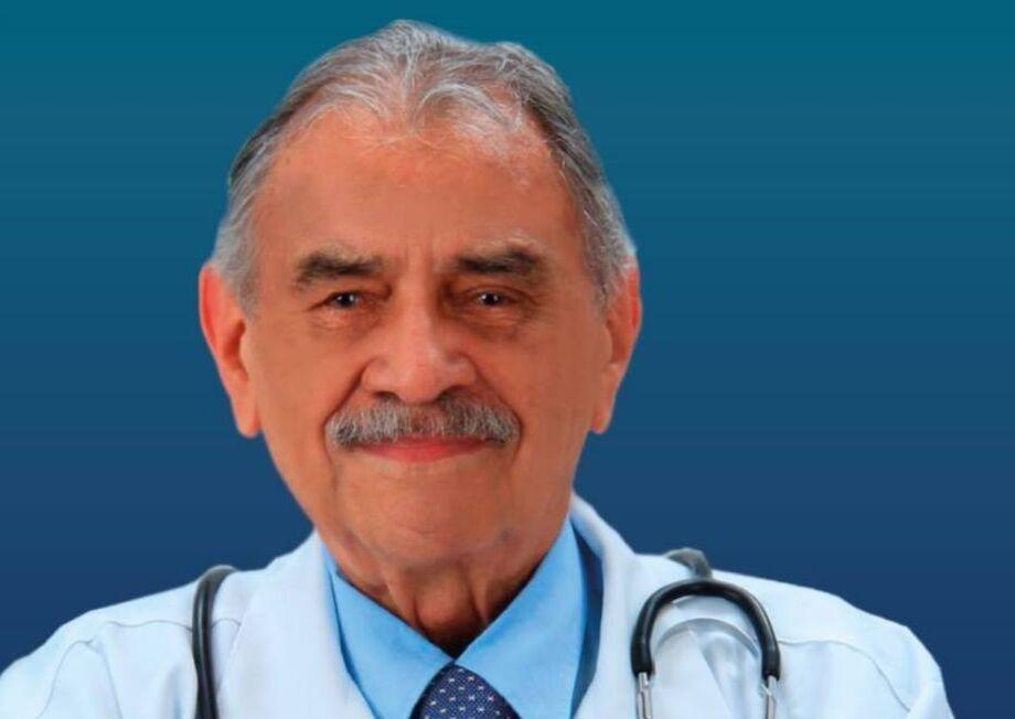 O nonagenário José de Castro Coimbra é candidato a vice na disputa de São José dos Campos