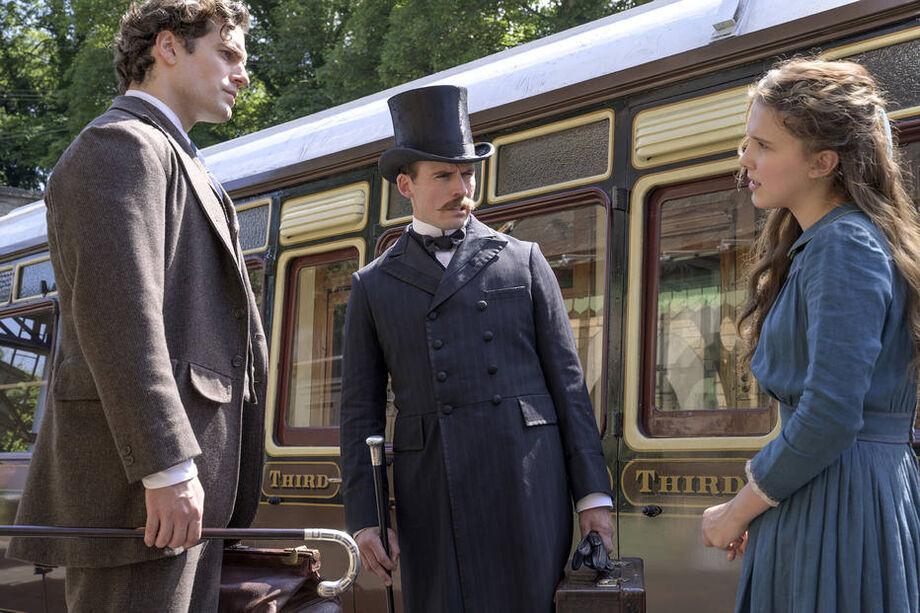 Cena do filme 'Enola Holmes'