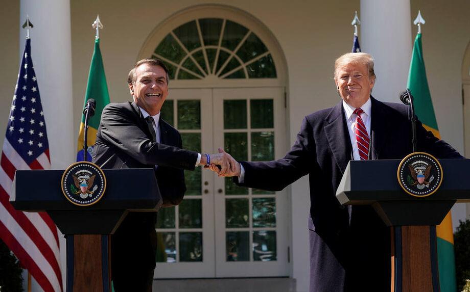 Alinhamento de Bolsonaro com Trump criou acordo entre os países