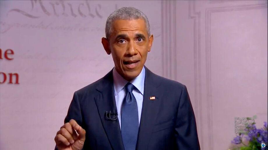 O ex-presidente dos EUA Barack Obama