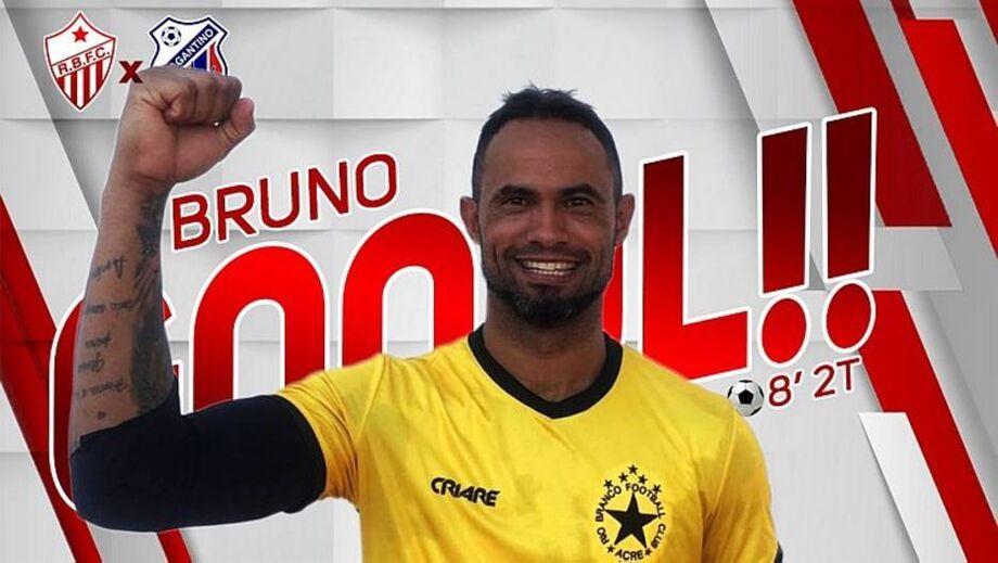 Goleiro Bruno cobra pênalti e marca gol no empate do Rio Branco-AC pela Série D