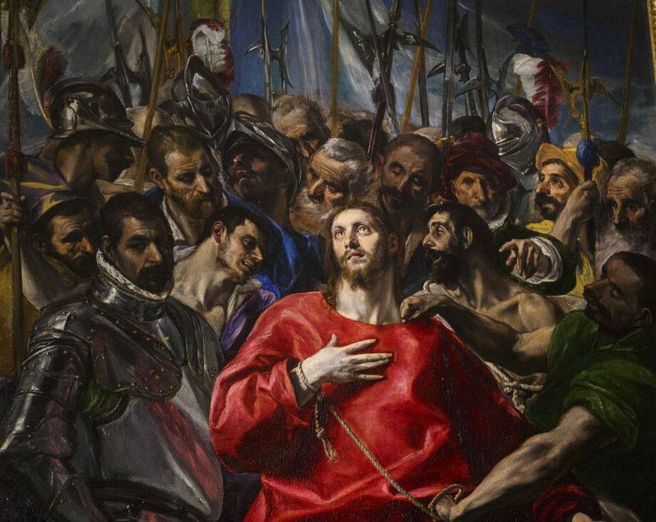 'El Expolio', óleo sobre tela de El Greco pintado entre 1577 e 1579