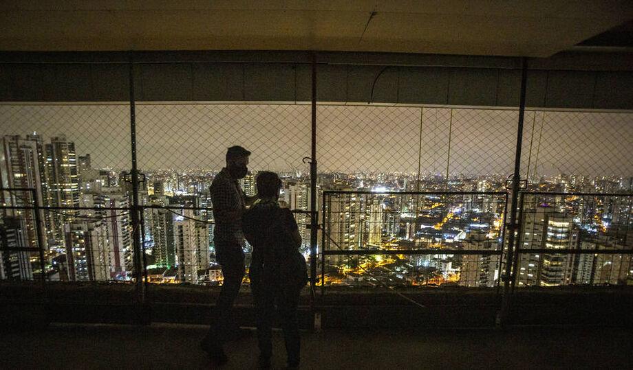 Edifício Figueira, no bairro do Tatuapé, zona leste de Sao Paulo, um dos futuros edifícios residenciais mais altos da cidade