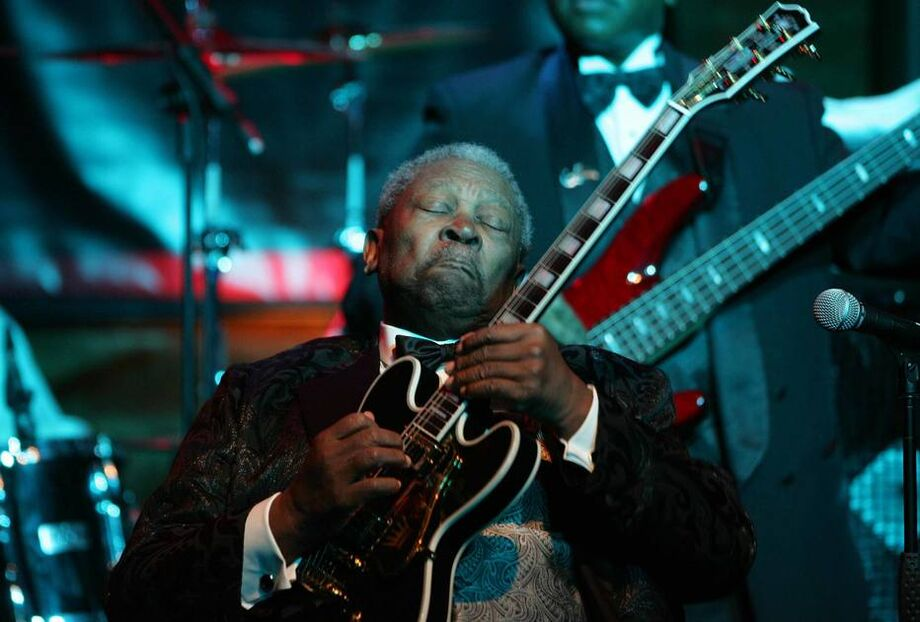 BB King em 2006, no Bourbon Street