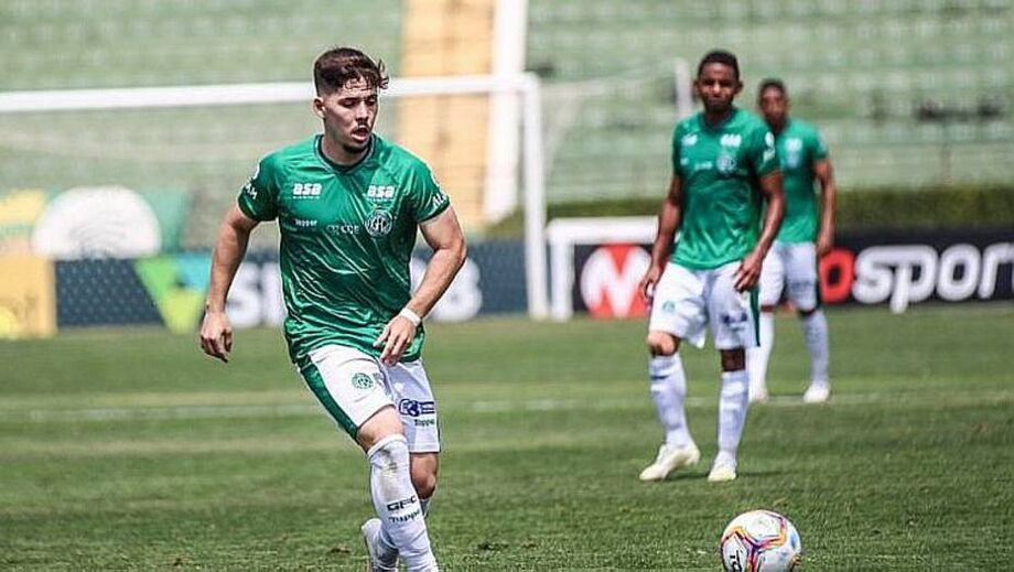 Guarani confirma lesão no joelho do volante Eduardo Person