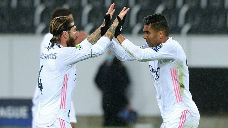 Casemiro marca e Real arranca empate com Mönchengladbach na Liga dos Campeões
