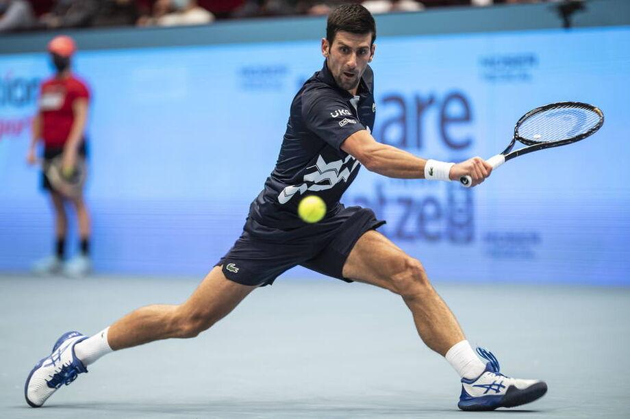 Djokovic no Torneio de Viena