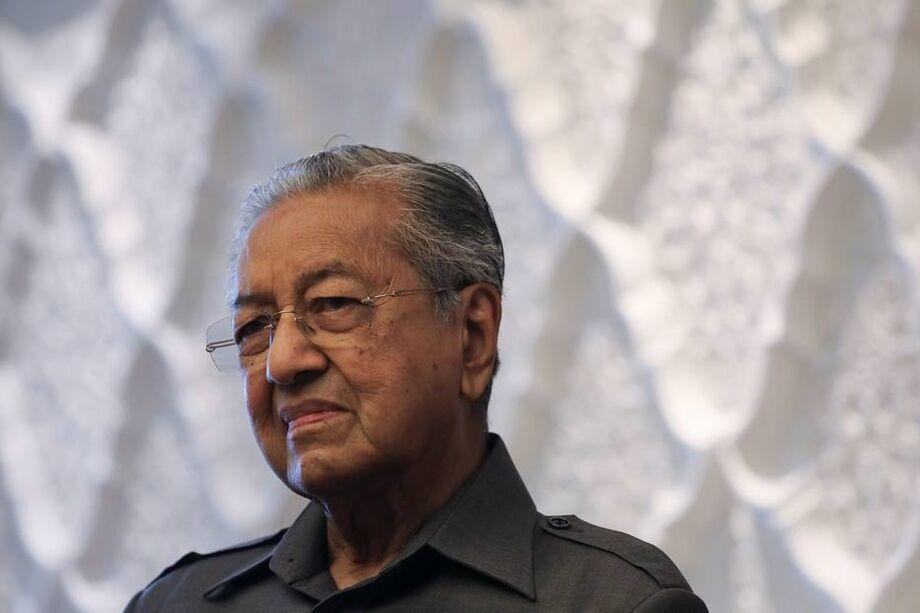 Mahathir Mohamad, o ex-primeiro-ministro da Malásia