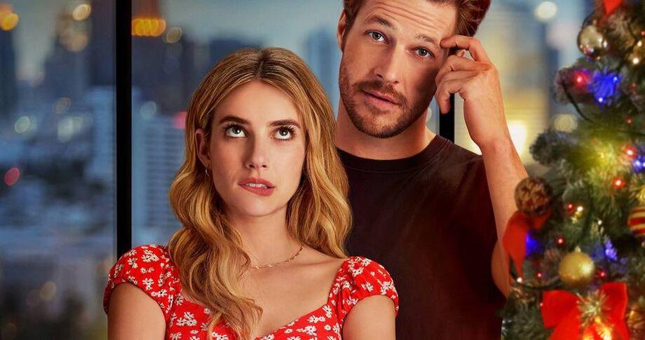 A atriz Emma Roberts e Luke Bracey em 'Amor com Data Marcada', da Netflix