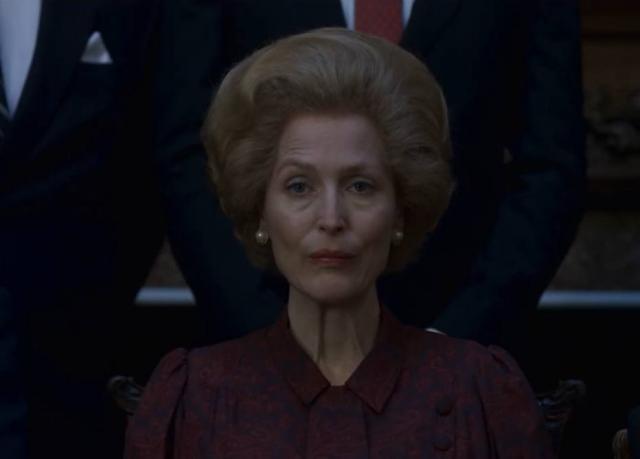 Gillian Anderson interpretará a primeira-ministra Margaret Thatcher na nova temporada de 'The Crown'