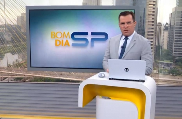 Rodrigo Bocardi no 'Bom Dia SP'
