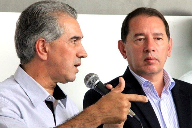 Reinaldo reafirma compromisso com Gerson Claro e anuncia obras em Sidrolândia