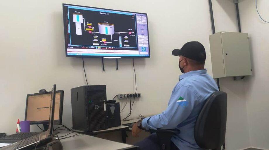 Monitoramento é feito 24 horas em conjunto com a unidade local e a sede da Sanesul em Campo Grande