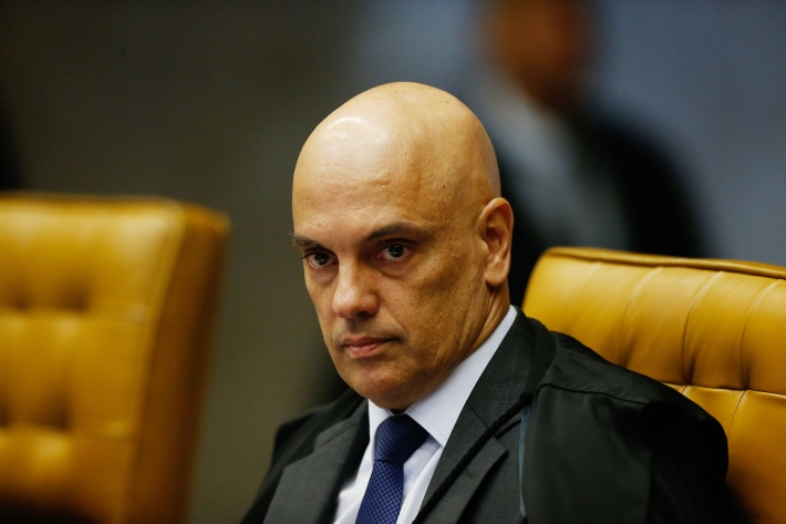 O ministro do Supremo Tribunal Federal, Alexandre de Moraes.