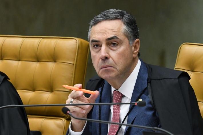 O ministro Luís Roberto Barroso, do Supremo Tribunal Federal