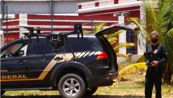 Segundo a corporação, os drones possuem câmeras com mecanismo de aproximação
