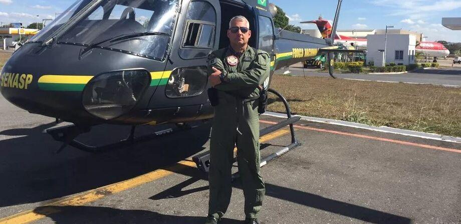 O piloto da Força Nacional, Renato de Oliveira Souza