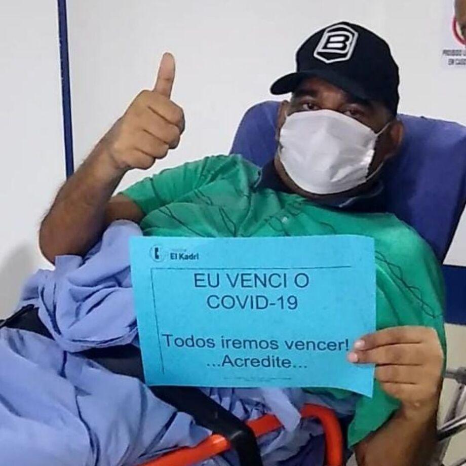 Antônio Benites, recuperado.
