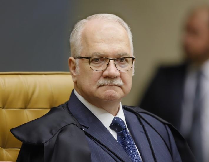 O ministro do Supremo Tribunal Federal, Edson Fachin, relator da Lava Jato na Corte