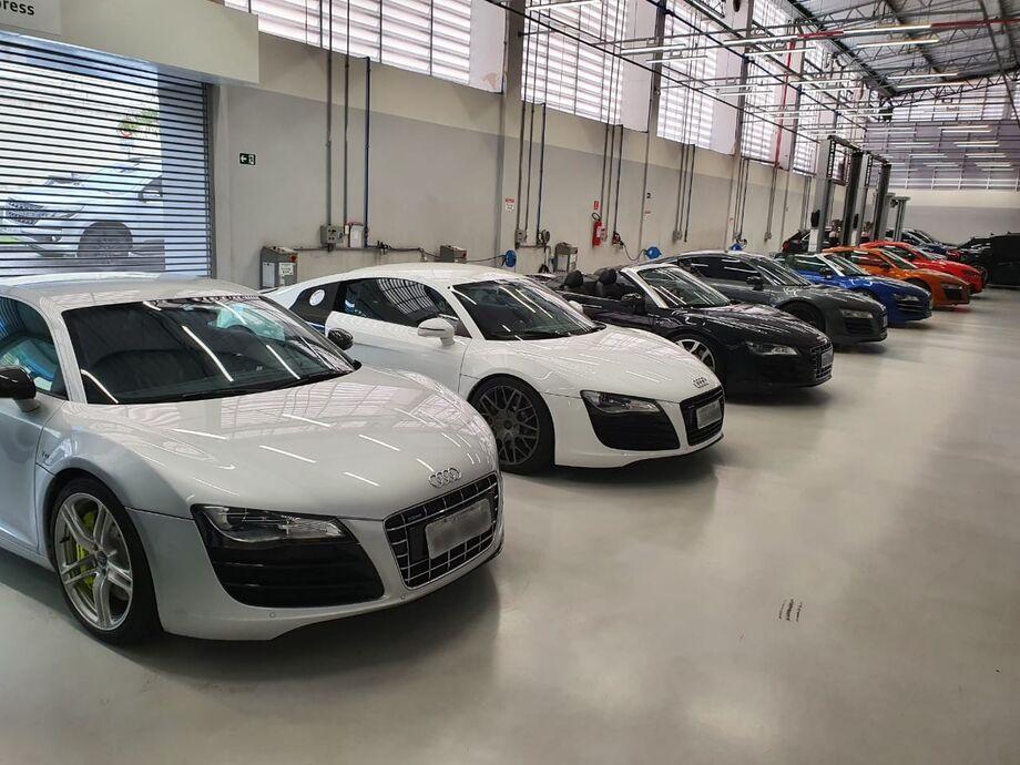 Encontro de Audi R8 em São Paulo
