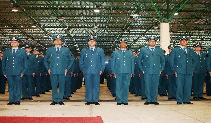 Formatura de Militares