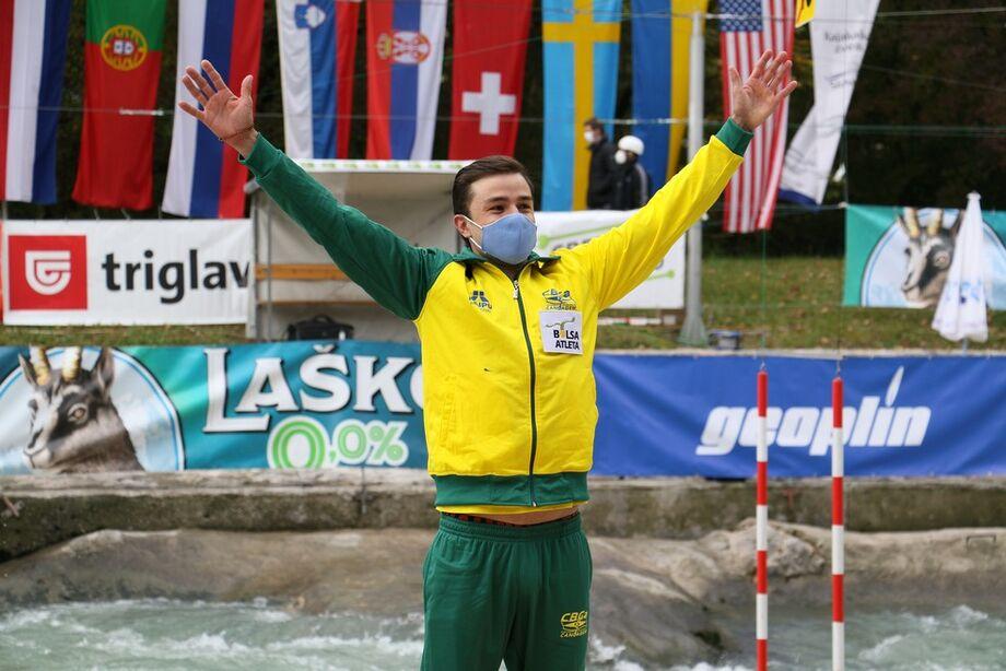 É a primeira competição da equipe brasileira de canoagem depois da pausa das competições internacionais provocadas pela pandemia de Covid-19