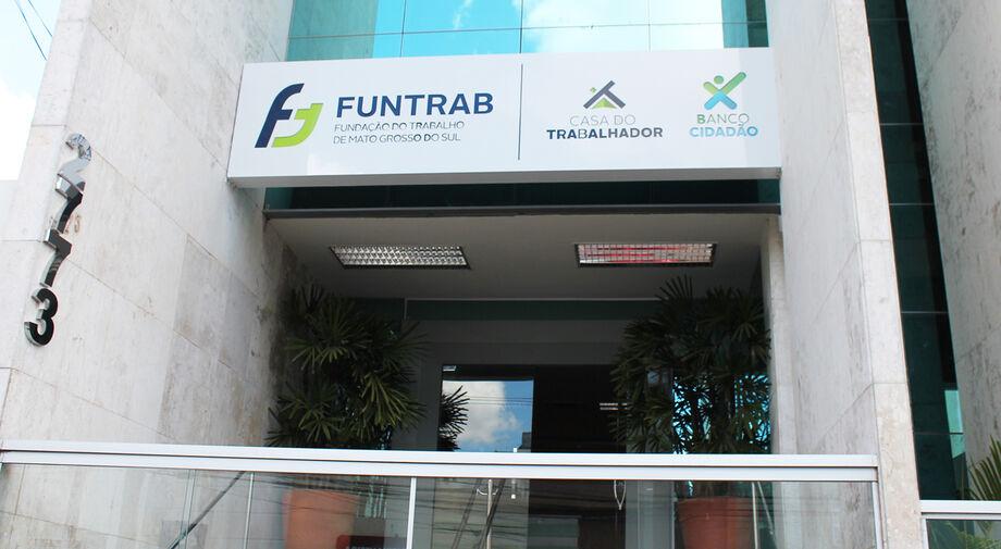 A agência fica no Centro de Campo Grande