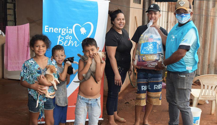 O programa beneficiou várias famílias